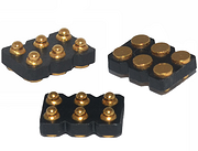 2.54mm Pitch Low Height 1.27mm Housing SMT Pogo Pin Connector