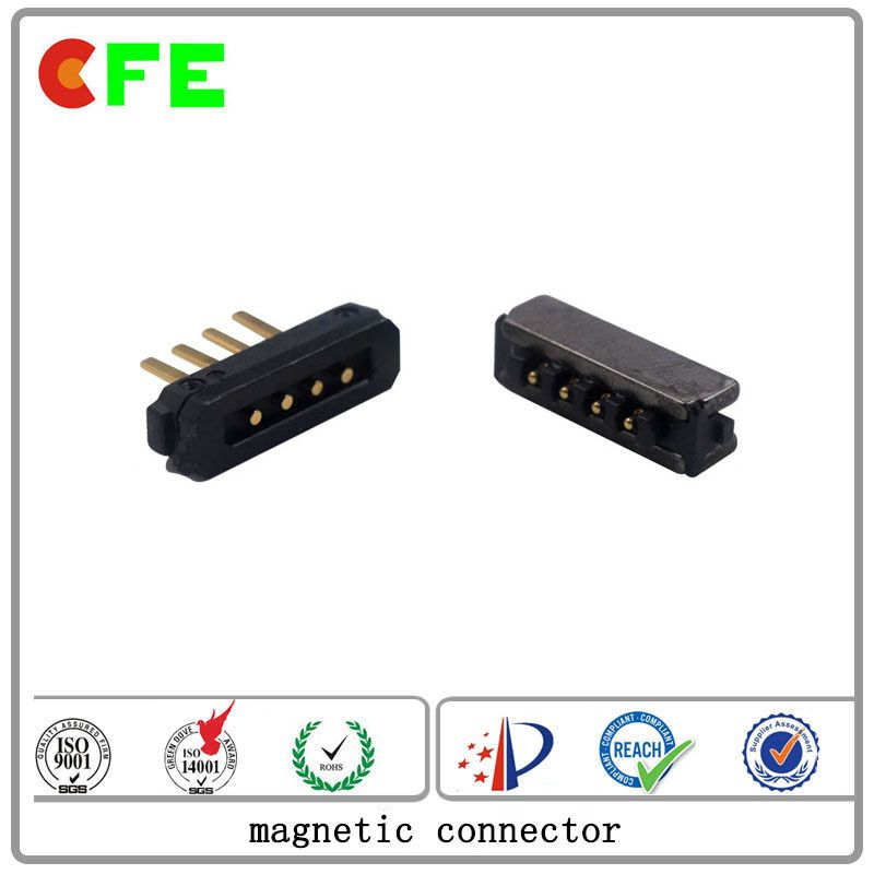 customized 4pin male and female magnetic connector manufacturer